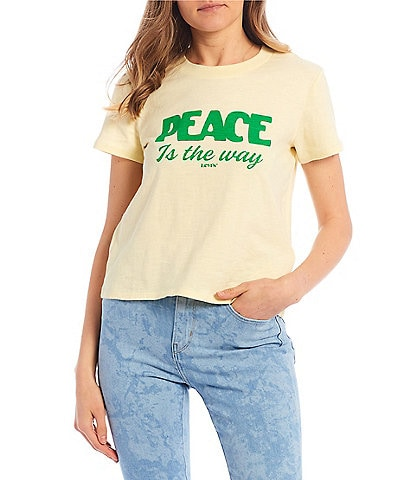 Levi's® Short-Sleeve Peace Is The Way Graphic Tee