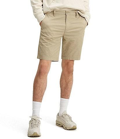 Levi's® Standard Taper Flat-Front 9#double; Inseam Chino Shorts
