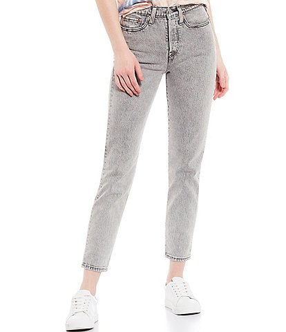 Levi's® Stone Broke Wedgie Icon Fit High Rise Tapered Leg Ankle Jeans