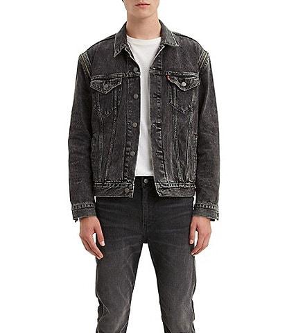 Levi's® The Trucker Zip Off Sleeves Denim Jacket