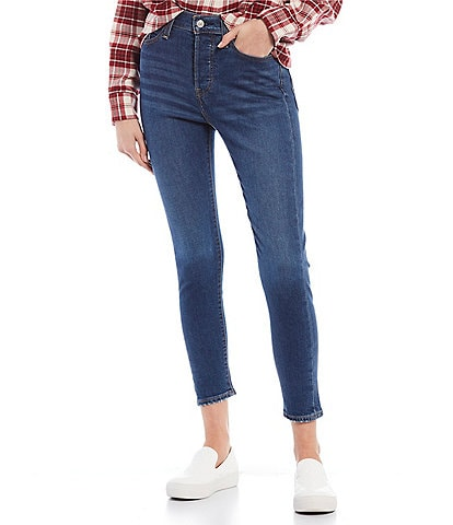 Levi's® Wedgie High Rise Skinny Jeans