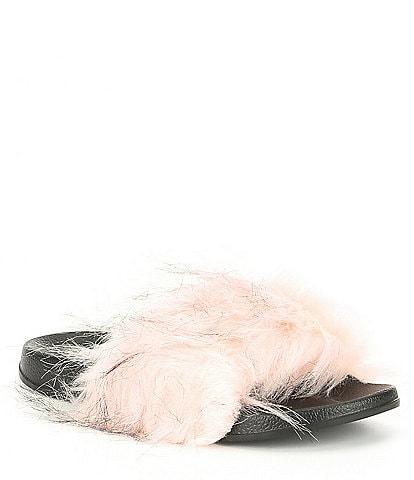 Levivel 1206 Faux Fur Slide
