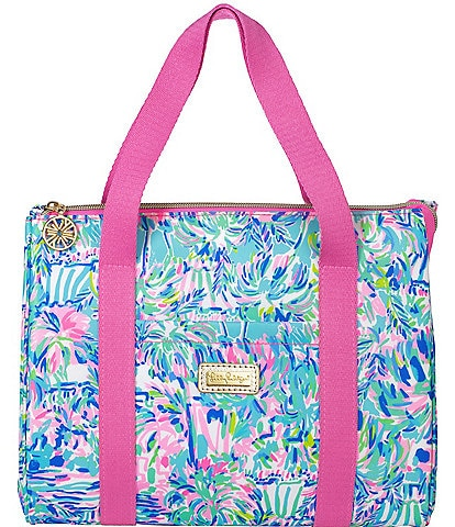 Lilly Pulitzer Cabana Cocktail Lunch Tote Bag