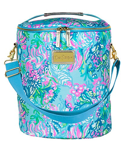 Lilly Pulitzer Aqua La Vista Beach Cooler