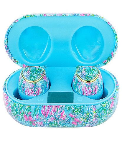 Lilly Pulitzer Best Fishes Bluetooth Earbuds