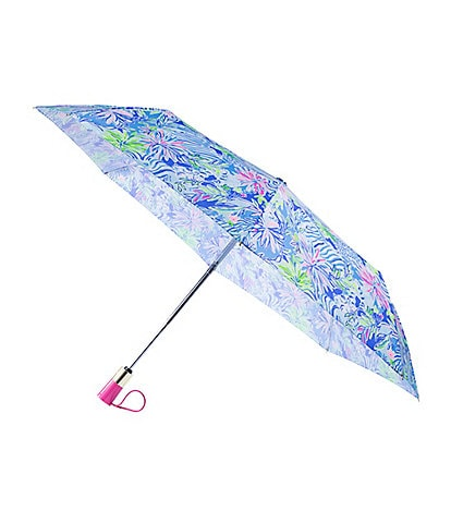 Lilly Pulitzer Lion Around Travel Umbrella