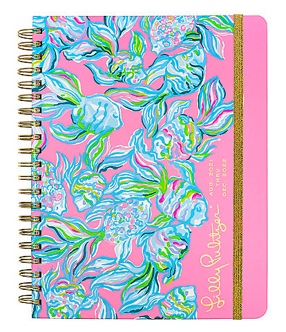 Lilly Pulitzer Off the Scales 17 Month Jumbo Agenda