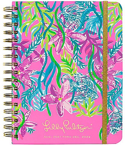 Lilly Pulitzer Party All The Tide 17 Month Large Agenda