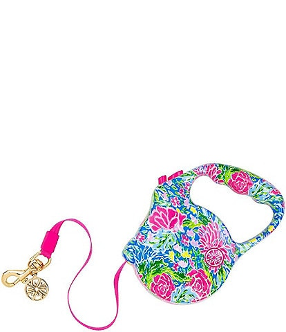 Lilly Pulitzer PET Bunny Business Dog Retractable Leash