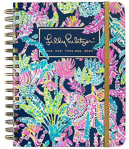 Lilly Pulitzer Seen and Herd 17 Month Large Agenda
