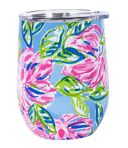 Lilly Pulitzer Totally Blossom Insulated Stemless Tumbler