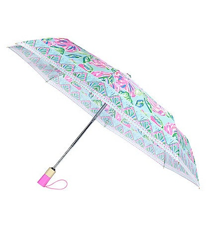 Lilly Pulitzer Totally Blossom Travel Umbrella