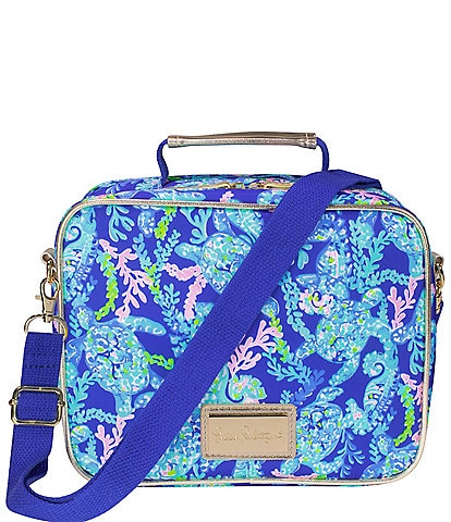 Lilly Pulitzer Turtle Villa Lunch Bag