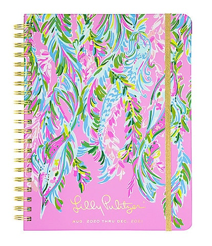 Lilly Pulitzer Unicorn of the Sea 17-Month Jumbo Agenda