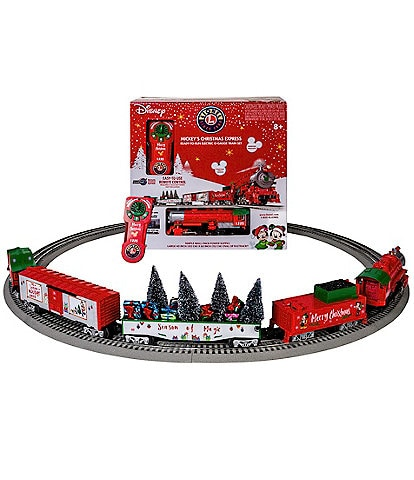 Lionel Mickey Mouse Christmas LionChief Train Set