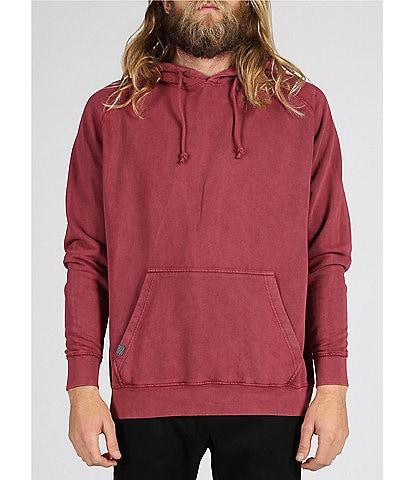 Lira Clothing Vintage Wash Unisex Long-Sleeve Pullover Hoodie