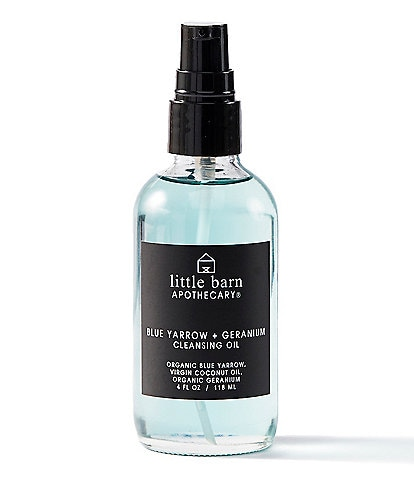 Little Barn Apothecary Blue Yarrow + Geranium Cleansing Oil