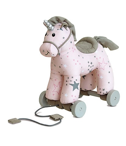 Little Bird Told Me Celeste Unicorn Pull Along Toy