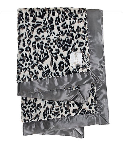 Little Giraffe Luxe™ Snow Leopard Baby Blanket