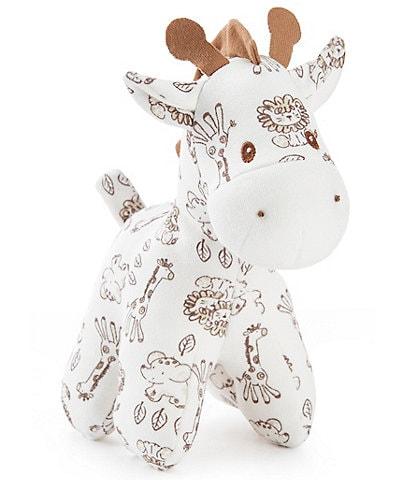 Little Me Giraffe Plush Rattle