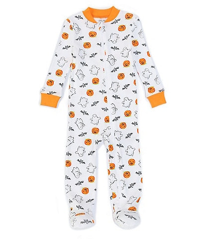 Little Me Baby 12-24 Months Long-Sleeve Halloween Full-Zip Footed Coverall Pajamas