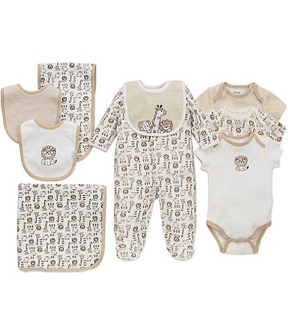 330f297b3 Little Me Baby Newborn-9 Months Safari 11-Piece Layette Separates Bundle