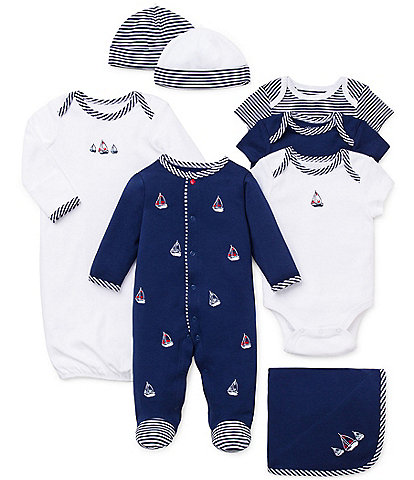 Little Me Baby Boys Newborn-9 Months Sailboats 11-Piece Layette Collection