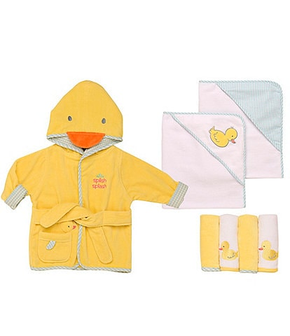 Little Me Baby Duck Bath Collection