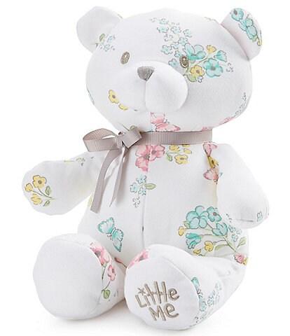 Little Me Baby Girls Meadow Floral 10#double; Plush Teddy Bear