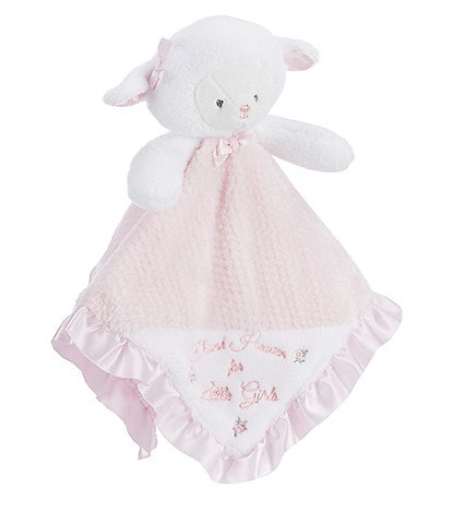 Little Me Baby Girls Thank Heaven For Little Girls Lamb Snuggle Buddy