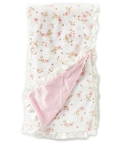 Little Me Baby Girls Vintage Rose Blanket