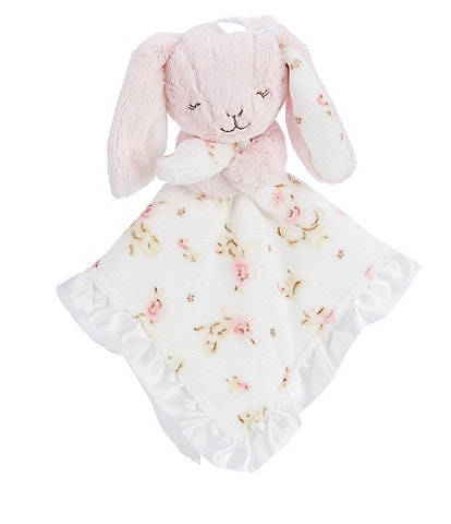 Little Me Baby Girls Vintage Rose Bunny Snuggle Buddy
