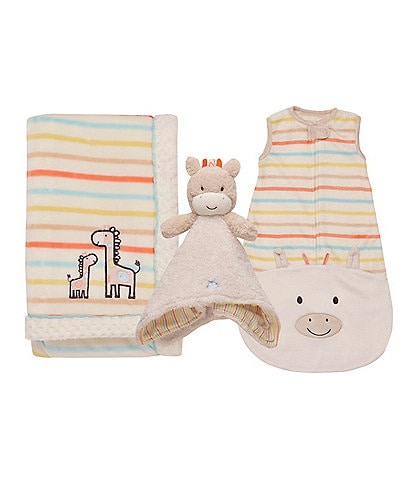 Little Me Baby Newborn-9 Months Giraffe Blanket Collection