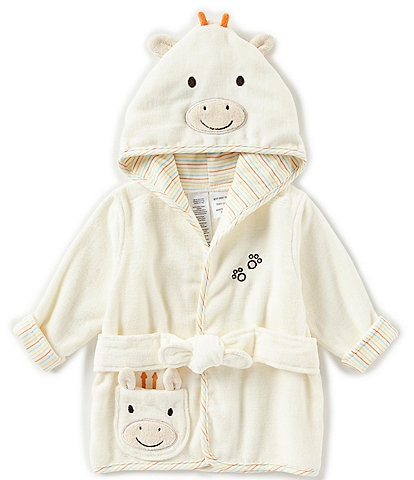 Little Me Baby Newborn-9 Months Giraffe Hooded Bath Robe