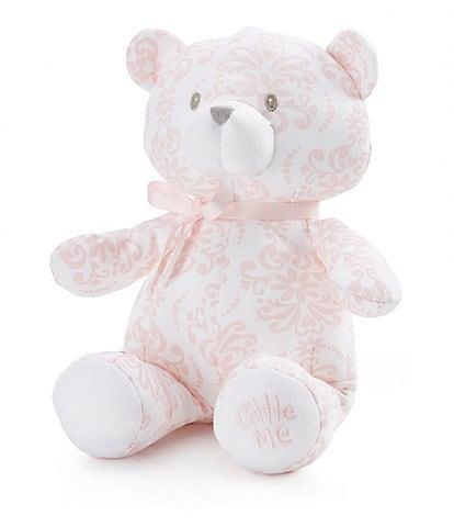 Little Me Damask Scroll 10#double; Plush Teddy Bear