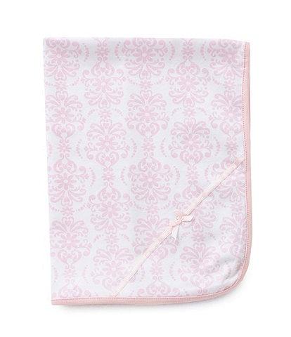 Little Me Damask Scroll Blanket