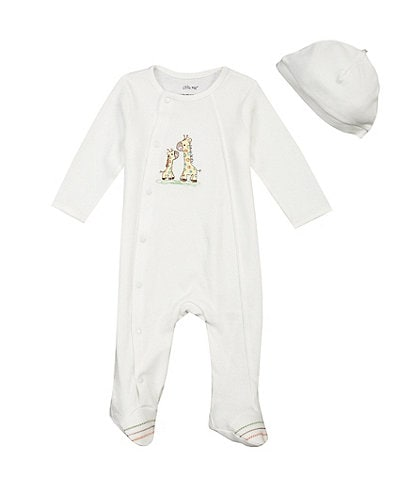 Little Me Baby Preemie-9 Months Giraffe Footie Set