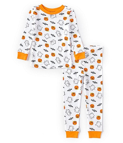 Little Me Toddler 2T-4T Long-Sleeve Halloween Two-Piece Pajama Set