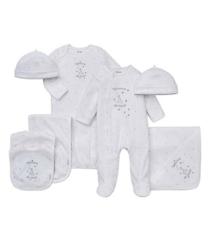 Little Me Baby Welcome to the World Blanket Separates Bundle