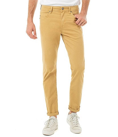 Liverpool Jeans Company Kingston Modern Slim-Straight Twill Pants