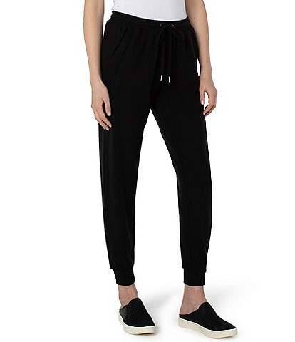 Liverpool Los Angeles Soft Athleisure Brushed Hacci Drawstring Joggers
