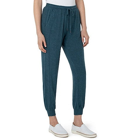 Liverpool Los Angeles Soft Athleisure High-Rise Drawstring Joggers