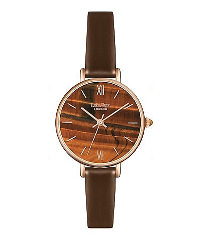 Lola Rose Strength Sapphire Agate Printed Stone Dial Watch