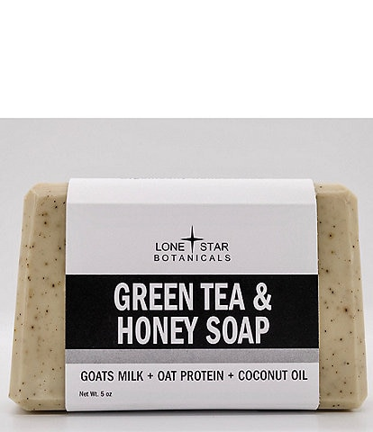 Lone Star Botanicals Green Tea and Honey Soap