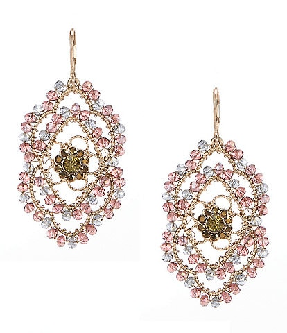 Lonna & Lilly Beaded Drama Drop Earrings