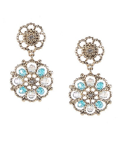 Lonna & Lilly Filigree Drop Earrings