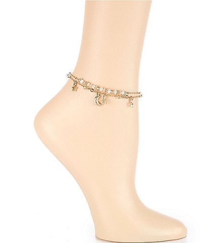 Lonna & Lilly Star Anklet Set