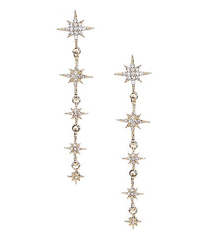 Lonna & Lilly Star Long Linear Earrings