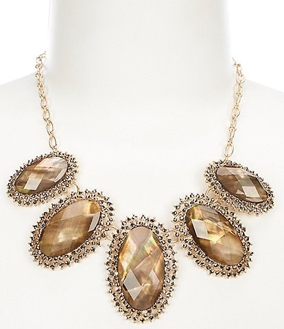 Lonna & Lilly Stone Frontal Statement Necklace