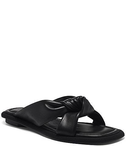 Louise et Cie Abaleena Knotted Leather Sandals